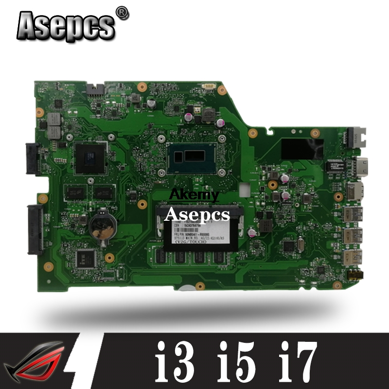 GT820M X751LD Carte Mère d'ordinateur portable Pour ASUS X751L K751L K751LD R752L X751LK X751LN X751LD X751LX X751LJ Carte Mère 4 GO i3 i5 i7