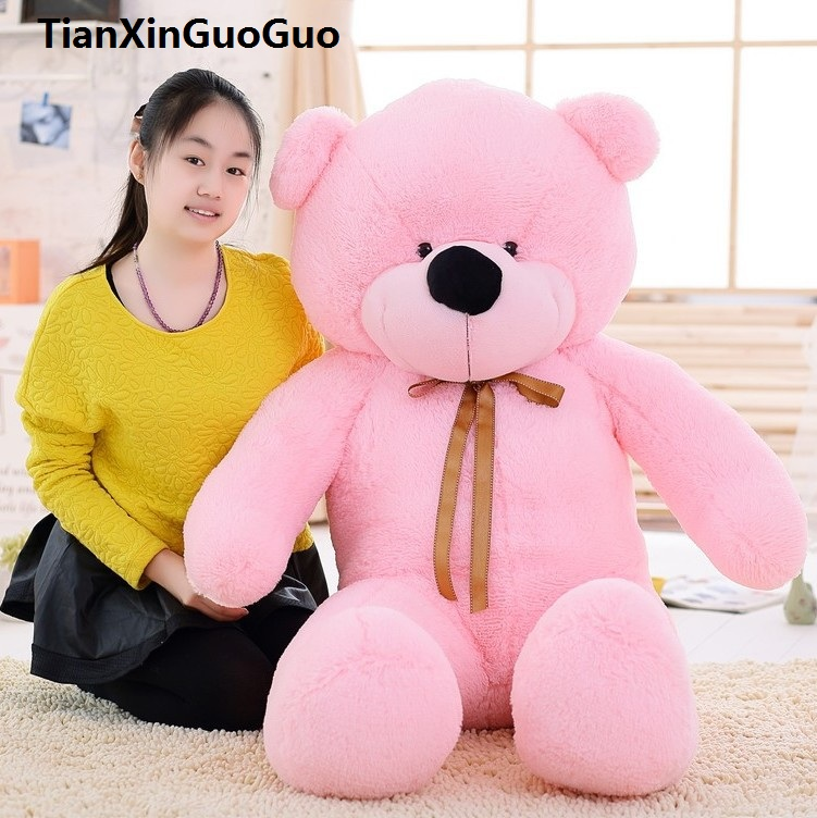 fillings toy large 140cm silk belt bear plush toy pink teddy bear doll soft hugging pillow birthday gift w0186 fillings toy large hello kitty plush toy 60cm fruit red apple kitty cat doll soft pillow birthday gift w5342