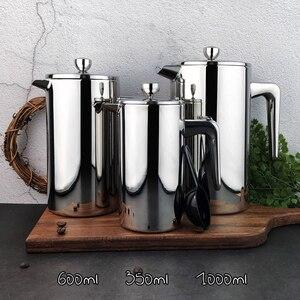 Image 4 - ROKENE In Acciaio Inox Francese Presse Caffè Caffettiere A Filtro macchina per il Caffè A Doppia Parete di Costruzione di Caffè Presse 3 Pezzi Regali
