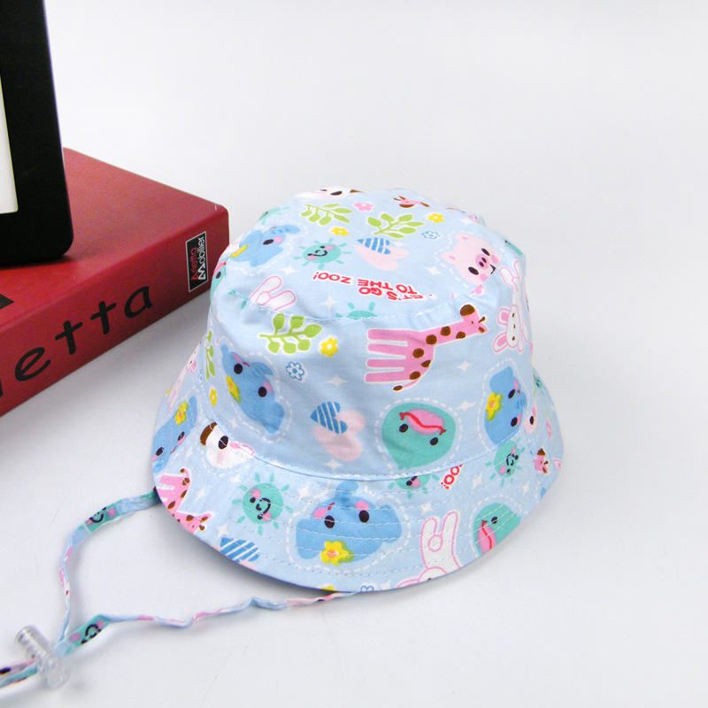 Summer Sun Hats for Newborn Infant Baby Toddler Kids Hat Cute Animal Hat For Gils Boys OutDoor Girls Sun Cap Boys Hat 0-3 Years