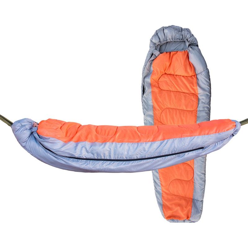 Camping Cold And Comfortable Single Hammock Multifunctional Separable Thickened Sleeping Bag Hammock Camping Autumn And WinterCamping Cold And Comfortable Single Hammock Multifunctional Separable Thickened Sleeping Bag Hammock Camping Autumn And Winter