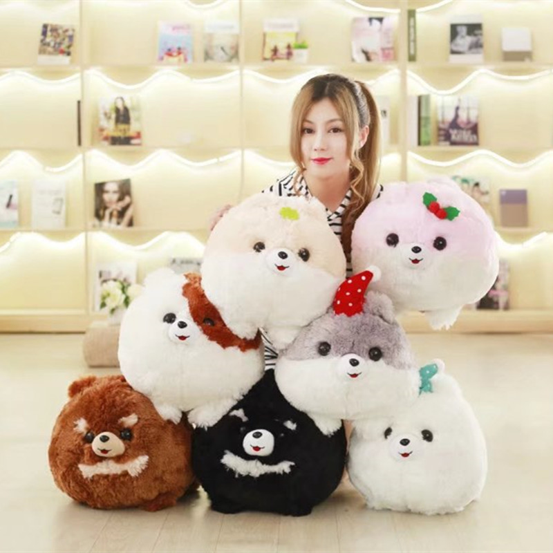 Super Cute 1Pc 7 Colors 30x40Cm Creative cartoon Pomeranian dog Plush Pillow With Blanket Insider (100x160Cm) Kids Birthday Gift michael mccarthy felicity o dell english collocations in use intermediate page 5