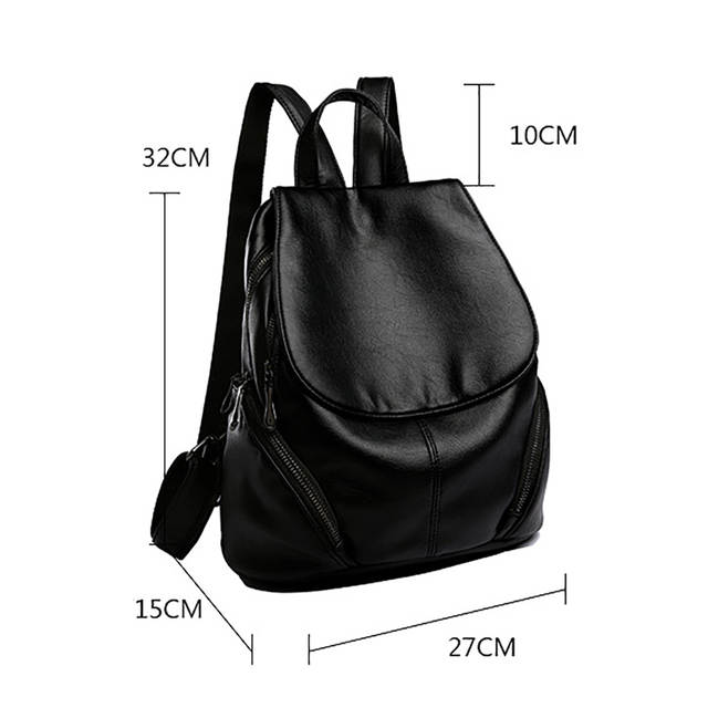 6afb548566 placeholder Lanzhixin Women Leather Backpacks Bag Simple Fashion Preppy  Style Bags Casual Backpacks Students School Travel Bags