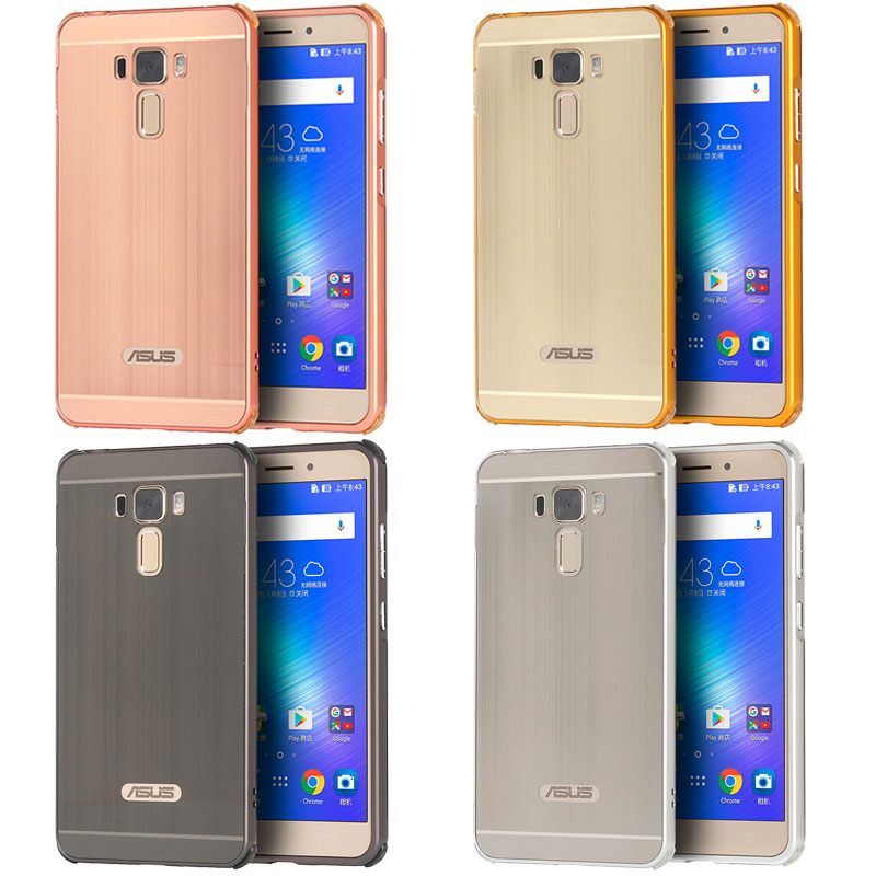 Brushed PC Back Cover For Asus Zenfone 3 Laser ZC551KL Case Anti Knock Metal Bumper Coque Fundas Capa In Phone From