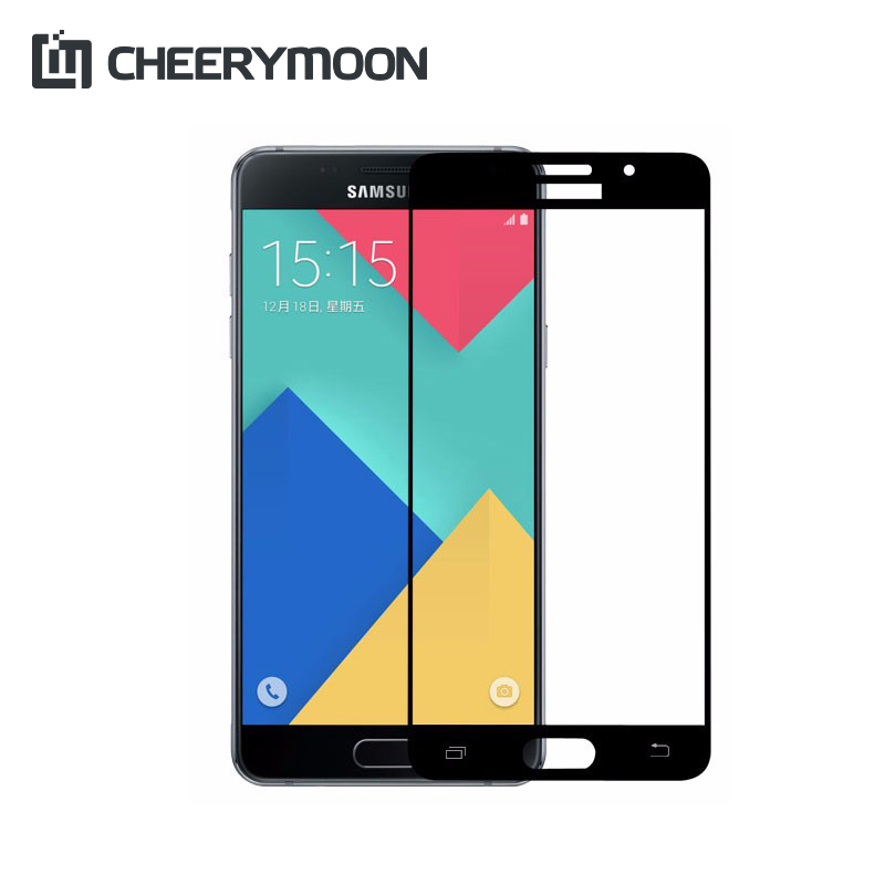 Full Cover Protect For Samsung Galaxy A5 2018 2017 2016 A510F Protector Phone Screen For Galaxy A5 Tempered Glass AE Saver Ship