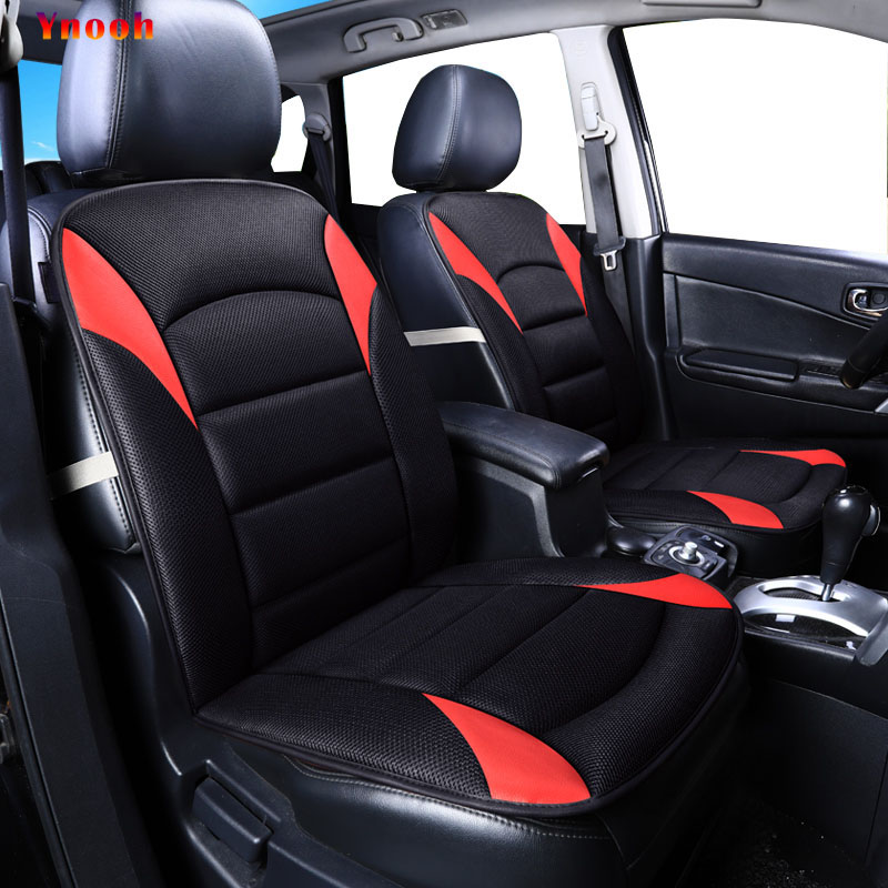 Ynooh car seat cover for mitsubishi outlander xl pajero 2 4 lancer 9 10 asx sport colt carisma cover for vehicle seat