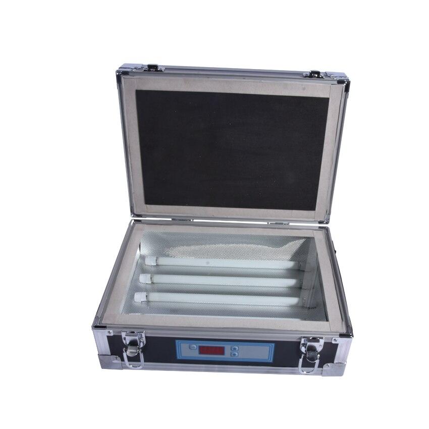 1pcs Single Side UV Light Exposure Machine UV Photosensitive Plate PCB Exposure Box silk screen plate exposure unit with vacuum exposure unit price expsoure unti for sale page 3