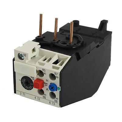 JRS2-25 0.63-1A Adjustable Current Thermal Overload Relay free shipping 1no 1nc 4 6 3a adjustable thermal overload relay jrs2 25
