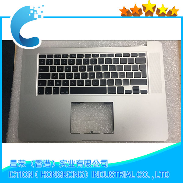 Original French Topcase With Keyboard For Macbook Pro Retina 15 A1398 Top Upper Case MC975 MC976 Mid 2012 Early 2013 661-6532 i o board usb sd card reader board 820 3071 a 661 6535 for macbook pro retina 15 a1398 emc 2673 mid 2012 early 2013