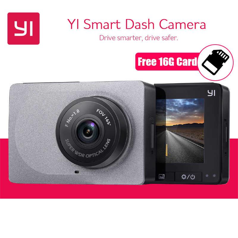 الدولية يي الذكية داش كاميرا كامل HD 1080 P 60fps مع G-استشعار للرؤية الليلية أداس سيارة مسجل فيديو DVR registrator