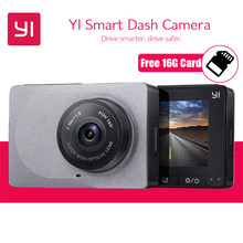 [International Edition] YI Smart Dash Camera Full HD 1080P 60fps Car DVR Dash Cam with G-Sensor Night Vision ADAS Registrator(China)