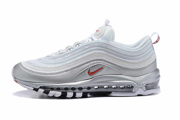 e469f43e26 New Arrival Women Nike Air Max 97 QS Metallic Series Retro Badminton Shoes,Girl  Sport