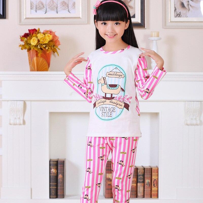 Aliexpress.com : Buy Korean spring little girls pyjamas long ...