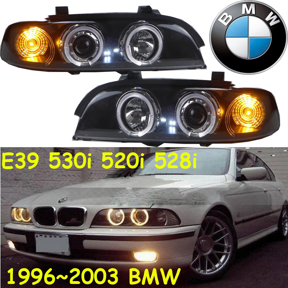 E39 headlight,530i 520i 528i,1996~2003,Free ship!E46 fog light,2ps/set+2pcs Ballast