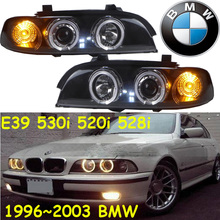 E39 headlight,530i 520i 528i,1996~2003,Fit LHD,If RHD need add 200USD,Free ship!E46 fog light,2ps/set+2pcs Ballast