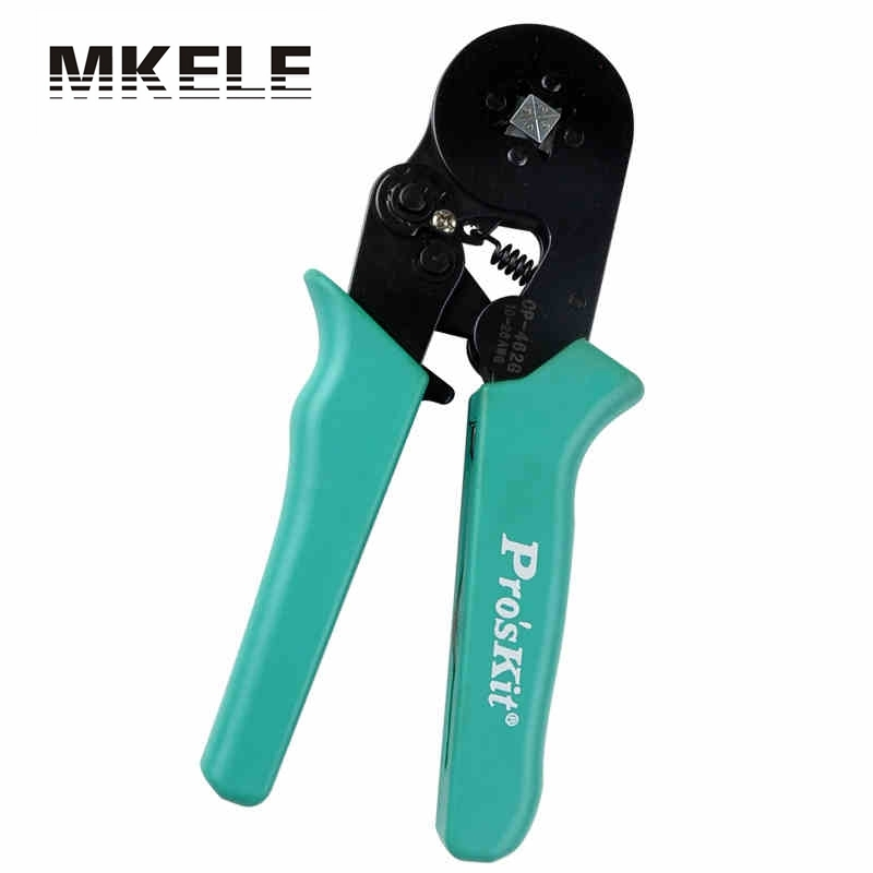 New Arrivals MKCP-462G Adjustable Square Ferrule Wire Crimpers Crimp Tool-Square Crimping Pliers Practical Line Pressing Tool yousailing vh2 02h2 coaxial cable ratchet crimping pliers wire crimpers crimping tools press plier crimpers