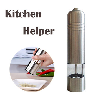 electric salt pepper grinder Milling machine pepper mill Diagnostic-tool stainless steel machine Kitchen Tools Gadgets10 moulin à sel et poivre