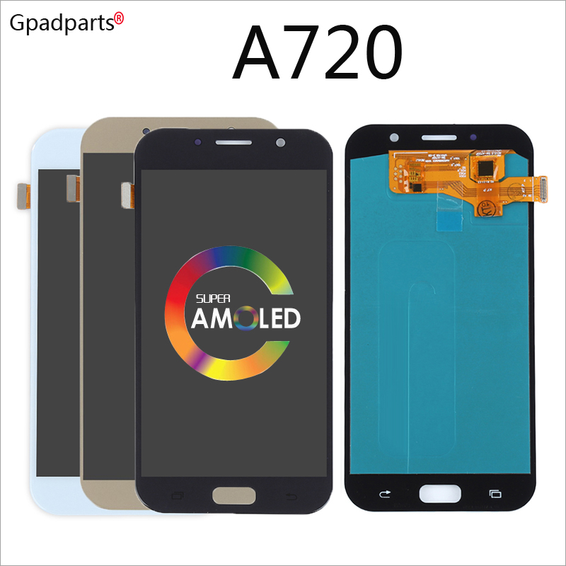 5.7inch AMOLED LCD For Samsung Galaxy A7 2017 lcd A720 A720F A720M A720Y Display with touch screen digitizer assembly 5.7inch AMOLED LCD For Samsung Galaxy A7 2017 lcd A720 A720F A720M A720Y Display with touch screen digitizer assembly