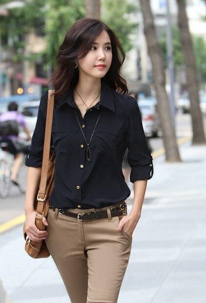 Office Wear Tops For Women Techieblogie Info