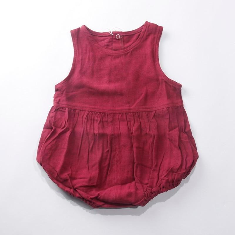 baby fashion girl short rompers spring summer infant clothes cotton toddler kids out wear wine. Black Bedroom Furniture Sets. Home Design Ideas