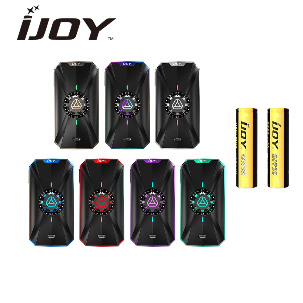 Original IJOY Zenith 3 VV Box MOD 360W Output with 2 x 20700 Battery IWEPAL Chipset 16 Voltage Levels Vape vs captain pd270 mod original ijoy captain pd270 box mod e cigarette vape 234w ni ti ss tc vapor power by dual 20700 battery new colors