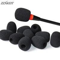 30*22*8 มม. เปลี่ยนชุดหูฟังไมโครโฟนฟองน้ำครอบคลุมโทรศัพท์ชุดหูฟังไมโครโฟนกระจกไมโครโฟนอุปกรณ์เสริม|อุปกรณ์เสริมไมโครโฟน|   -