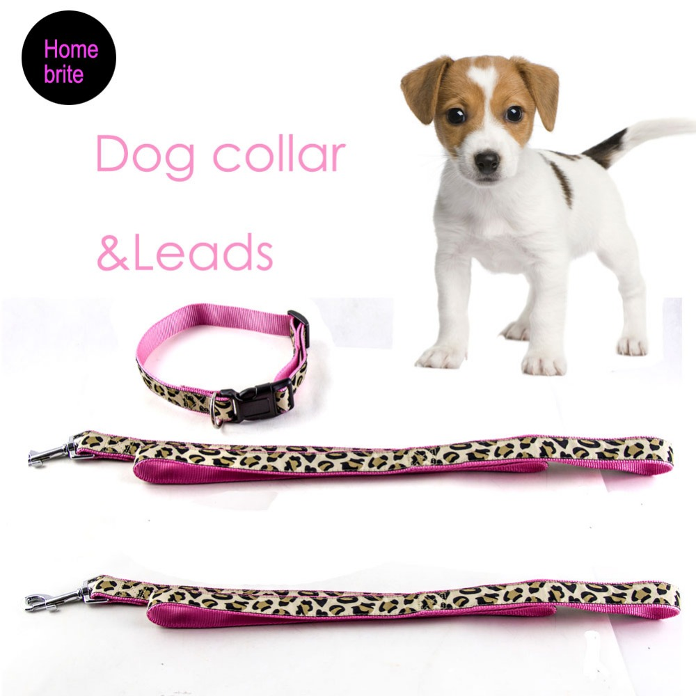 2 unids/set mascotas cachorro Collares y lleva con patrón encantador ...