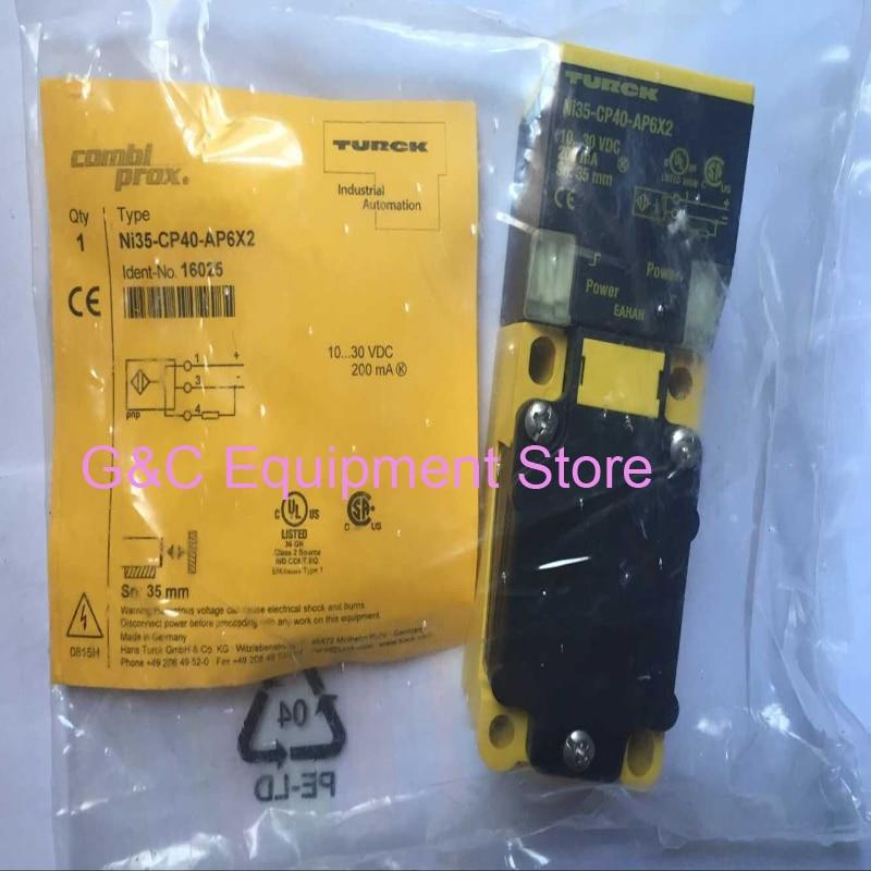 1PC NEW Turck Proximity Sensor NI35-CP40-FZ3X2
