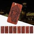 Nuevo estilo tradicional de bambú escultura de madera de madera trasero duro case cubierta del teléfono case para iphone 6 6 s/6 plus 6 splus hight quality
