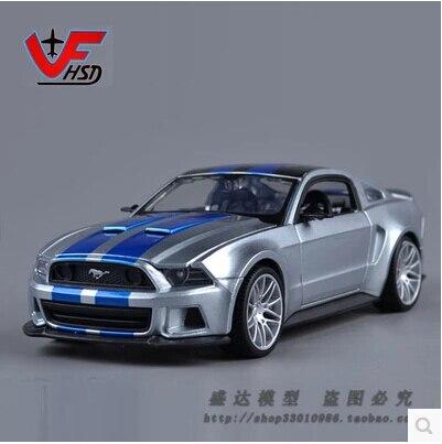 Ford Mustang GT 1:24 Maisto Need for Speed Моделирования Модель Автомобиля Сплава модели автомобилей подлинная Быстрый & Furious Коллекционирование Игрушки