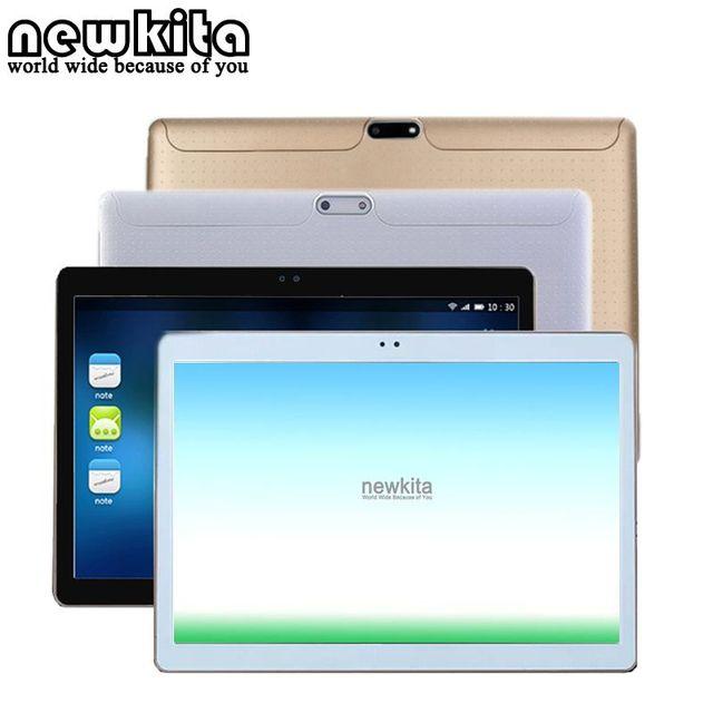 Newkita tableta de 10.1 pulgadas 3g mt8752 octa core android 5.1 ram 4 gb ROM 32 GB 1280*800 pxl 5.0MP GPS Bluetooth Dual SIM de la PC Del Caso Del Tirón