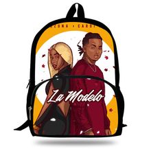 High Quality Bad Bunny Maluma Ozuna POP Rapper Printing Backpacks boys Schoolbag for Teenager Mens Laptop Backpack Travel Bag ozuna bogota