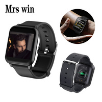 Mrswin Z02 Smart Watch Color Screen Waterproof Heart Rate Fitness Smart Bracelet Push Message Pedometer Wristband IOS Android