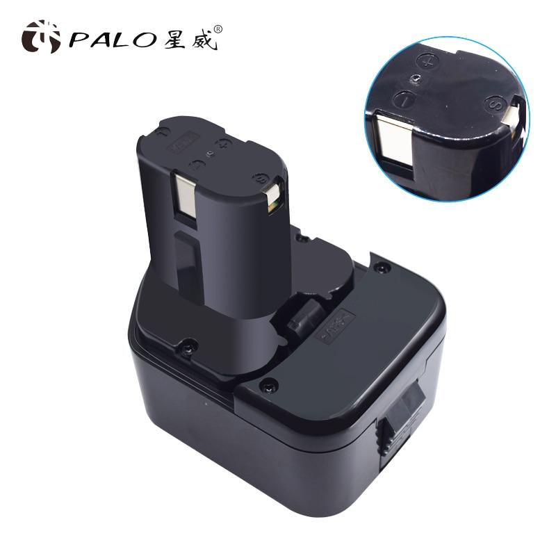 PALO 12V Battery for Hitachi Koki NICD EB1220BL EB1214S EB1212S WR12DMR CD4D DH15DV C5DC 5D, FDS 12DVC, FDV 12DV 2x eleoption 12v battery for hitachi eb1220bl eb1214s eb1212s wr12dmr cd4d dh15dv c5d