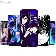 Anime Black Butler kiss Silicone Case for Oneplus 7 7Pro 5T 6 6T Black Soft Case for Oneplus 7 7 Pro TPU Phone Cover