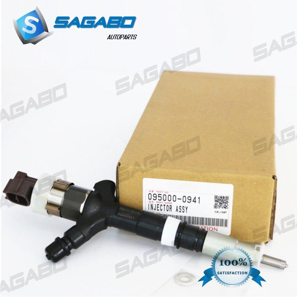 Analytisch Common Rail Injector 095000-0940,095000-0941 Voor 23670-30030, 23670-30040, 23670-39035, 23670-39036