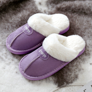 Women House Slippers Plush Winter Warm Shoes Woman Comfort Coral Fleece Memory Foam Slippers House Shoes for Indoor Outdoor Use 3
