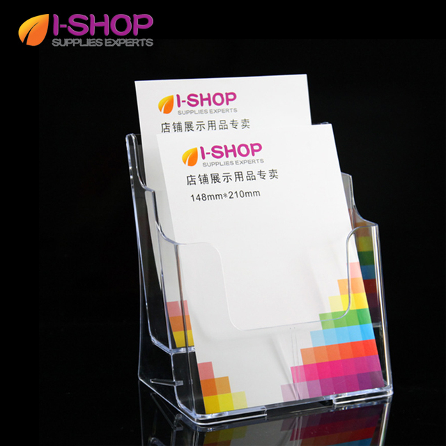 two tiered brochure rack holder for a5 literature holder booklet
