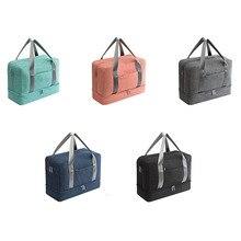 Portable Shoes Clothes Separate Storage Bag Pouch Pocket Handle Oxford Zipper Organizer Hot Sale