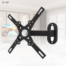 12KG Adjustable 14 - 32 Inch TV Wall Mount Bracket Flat Panel TV Frame Support 30 Degrees for LCD LED Monitor Flat Pan