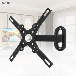 Suporte de televisão ajustável, suporte de televisão com braçadeira ajustável de 12 kg para tv de 14 - 32 Polegada, suporte de tv plana com 30 graus para lcd prancha plana do monitor led