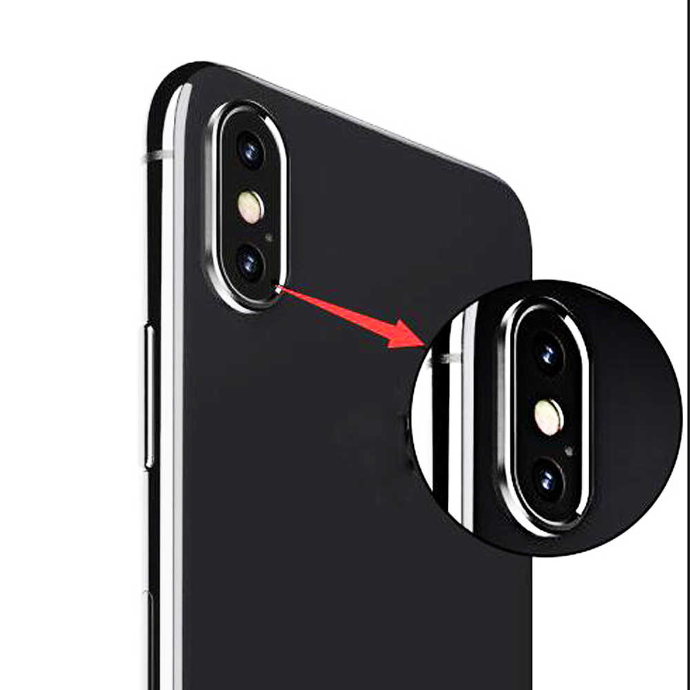 Sinbeda Metal Rear Camera Lens Case Cover For Huawei P20 Lite / Mate 20 Camera Guard Circle Case Cover Ring Bumper Protection