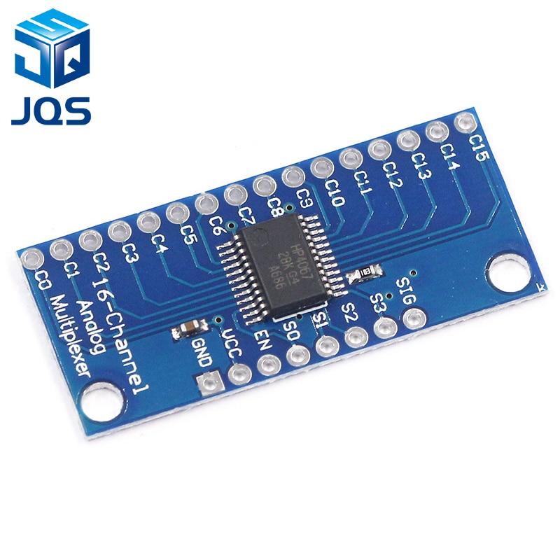 1pcs CD74HC4067 16-Channel Analog Digital Multiplexer Breakout Board Module Smart Electronics1pcs CD74HC4067 16-Channel Analog Digital Multiplexer Breakout Board Module Smart Electronics
