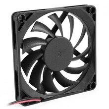 YOC Лидер продаж 80 мм 2 контактный разъем вентилятор охлаждения для компьютера чехол Процессор радиатор