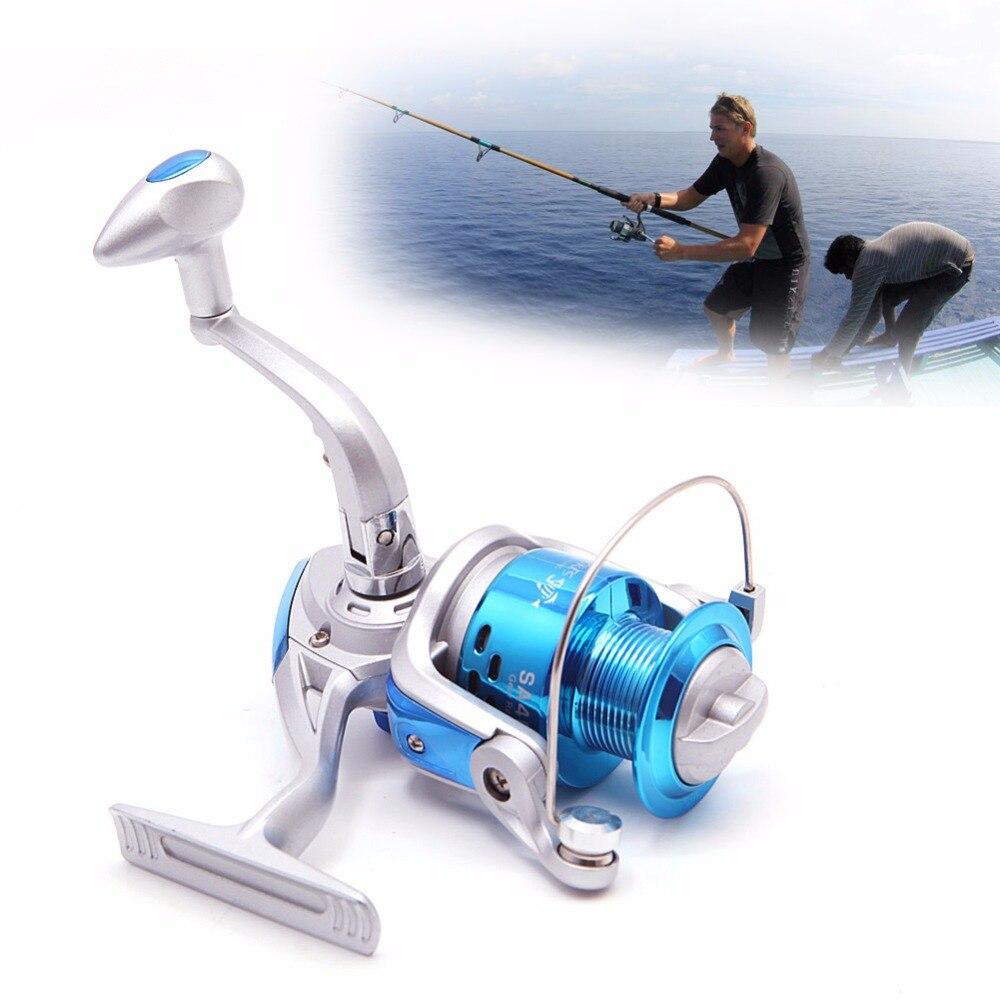 1 pc 6bb fishing reels spinning metal spool reel wheel for for Sa fishing promo code free shipping