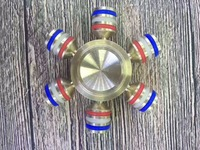New 2017 Gyro Torque EDC Kids Toys Triangular Hand Spinner Professional Fidget Spinner Focus KeepToy And