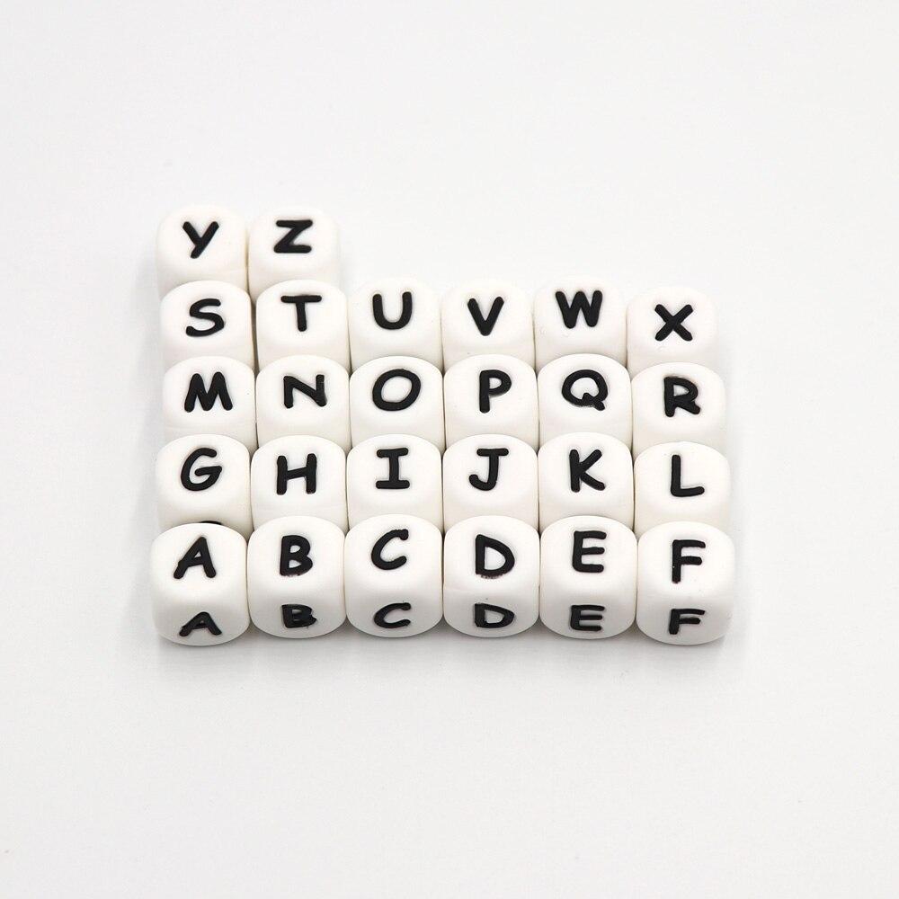 TYRY.HU 200Pcs 12mm Silikon-Buchstabe-Korn-Nahrungsmittelgrad-Zahnen - Säuglingspflege - Foto 4