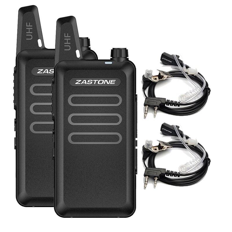 2pcs Zastone X6 Mini Walkie Ta...