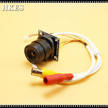 CMOS 1200TVL Mini CCTV Camera Module with BNC Cable and CS Lens 4mm 6mm 8mm 12mm 16mm