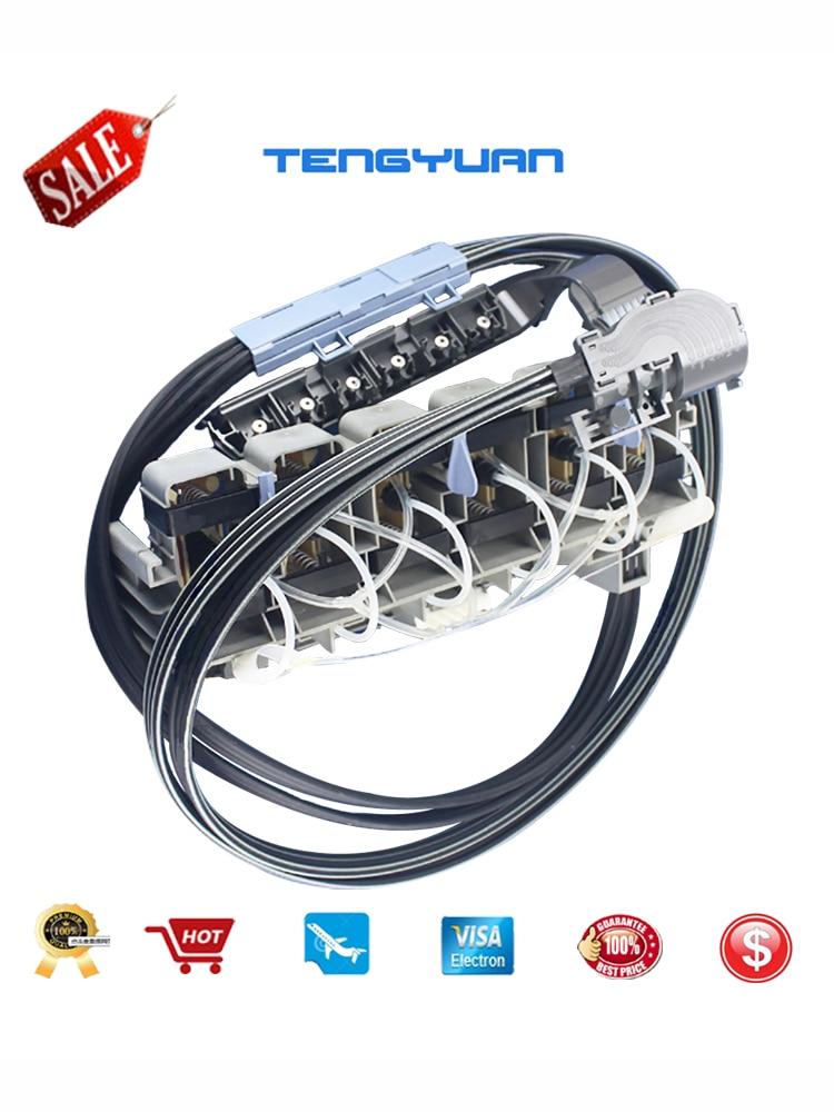 """Q1253-60042 pour HP Designjet 5000 PS 5000UV 5500 PS 5500UV assemblage de Tubes d'encre 60 """"Original nouveau sans nouvel emballage"""